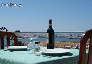 Restaurante - Ferragudo - Vista Rio Arade e Marina