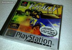 v-rally - jogo ps1 (jogo playstation 1)