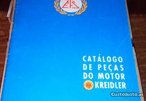 catálogo de peças do motor kreidler