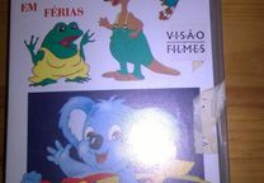 VHS - Bolek e Lolek Em Férias