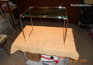 Mesa de centro com tampo vidro 15 mm temperado