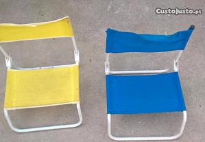 cadeiras lazer