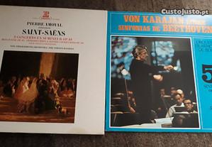 Vinil LP de Pierre Amoyal e Von Karajan