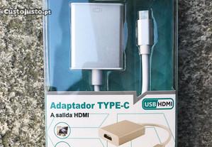 Adaptador Type-C (USB-C) para HDMI