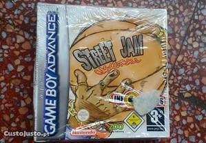 Jogo game boy advance Street jam basketball novo