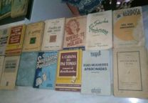 Conjunto de 18 Livros Antigos Romance