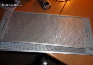 Grelhas Inox para Exaustor 50x19 cm Oferta Envio