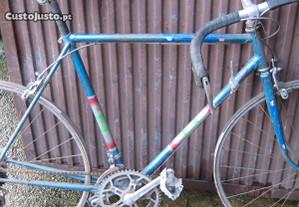 Bicicleta corrida vintage