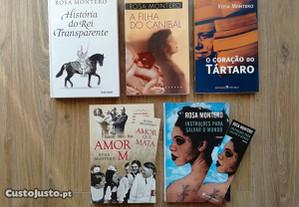 Livros Rosa Montero (portes grátis)