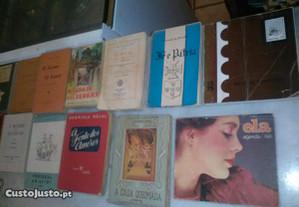 Conjunto de 15 Livros Antigos Diversos