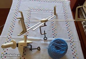 Conjunto para fazer novelos de lã