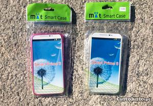 Capa de silicone para Vodafone Smart Prime 6 -Novo