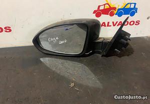 Espelho Retrovisor Esquerdo para Chevrolet Cruze