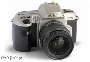 Máquina fotográfica Nikon F60