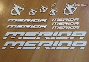 Merida autocolantes bicicleta + oferta 2 nomes