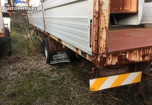 Caixa de estrado camião atrelado