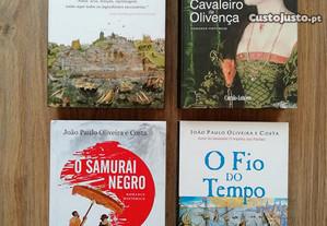 Livros João Paulo Oliveira e Costa (portes grátis)