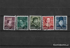 5 selos usados. Portugal 1949