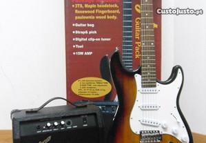 Kit Guitarra Elétrica (novo)