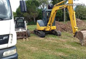 Trabalhos de Limpeza e Demolições em Terrenos.