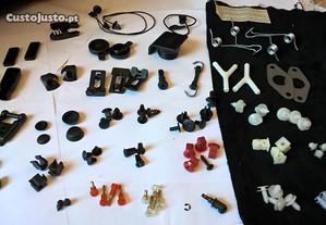PANDA Fiat tampas peças botões molas plásticos