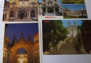 Postais: Braga