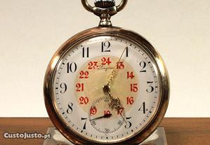 Relogio de bolso Longines em Prata 1903 Grand Prix