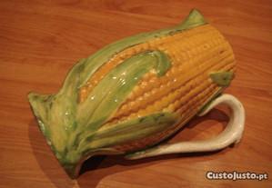 caneca muito antiga milho faiança