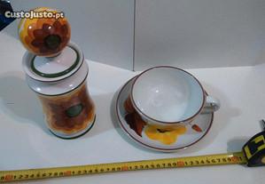 Retro Vintage Antigo Porcelana Olaria Alcobaça Lda