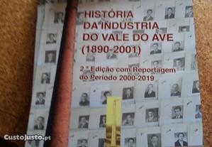 livro História da Indústria do Vale do Ave
