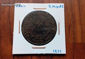 Moeda X Reis 1831 D. Miguel (Escassa)