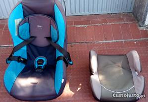 Conjunto Cadeiras auto de 0 a 18 Kg e outra