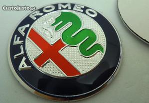 Simbolo Alfa romeo 40mm concavo volante jante