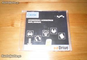 CD de instalação para QTEK NDrive