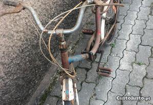 Bicicleta dobravel com 3 mudanças