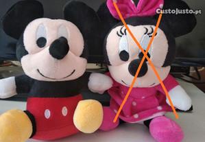 Mickey minnie peluche 20 cm