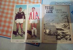 Cromos jogadores -Texas Jack