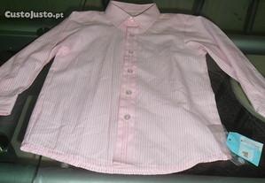 camisa para menino nova com etiqueta