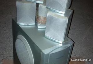 Conjunto de KIT colunas 5.1 TOSHIBA .