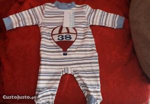 Babygrow novo menino 1/3 meses