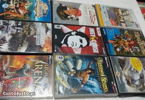 Jogos dvd para P.C. varios impecaveis