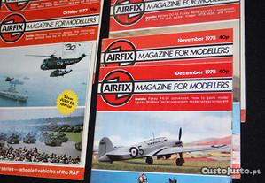8 Airfix - Revistas de modelismo - 1977/1978