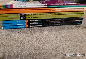 Manuais Escolares e Livros de Apoio 5. ano