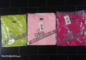 T shirt D&G e Ralph Lauren