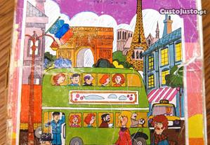 7 Livros Escolares Antigos de Francês