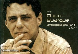 CD duplo Chico Buarque - Antologia 66/84