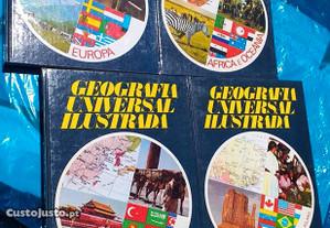 Livros Geografia Universal Ilustrada