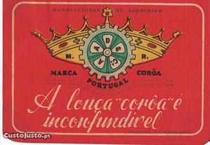 3 Rótulos antigos de Coroa - anos 40/50