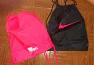 Bolsas Nike Mochila Shoebag novas Lote de 2