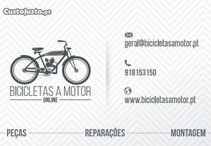 Peças - Bicicleta a Motor Bina